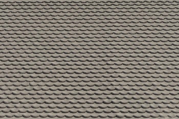 Sivá strešná krytina
